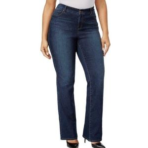 Style&Co Curvy Bootcut Medium Wash Jeans